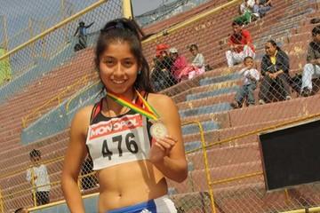Boliviana logra dos medallas en Grand  Prix Sudamericano