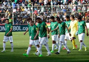 Bolivia desciende siete posiciones en el ranking FIFA