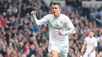Cristiano, goleador histórico del Real en el estadio Bernabéu