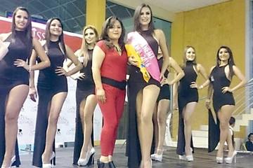 Miss Chuquisaca escogió temática  de la era cretácica