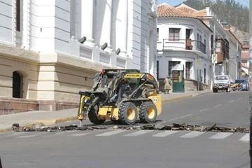 Recapan las calles Kilómetro 7 y Rosendo Villa