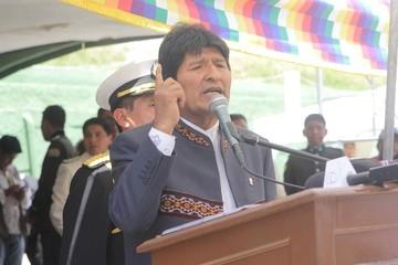"""Evo Morales: """"Bolivia nunca más será colonia de Chile"""""""