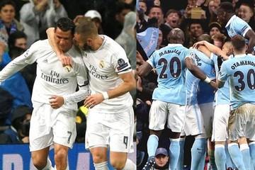 El Madrid se clasifica a semifinales y el City se cuela entre los cuatro mejores de Europa