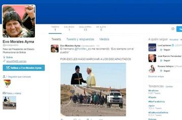 @evoespueblo suma miles de seguidores, es tendencia global y tiene un clon