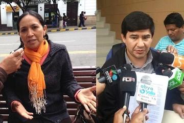 Ex senadora Tomasa Yarhui desafía a Milton Barón a un debate en quechua