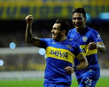 Boca celebra pase  a octavos de final con una goleada