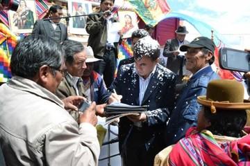 El ministro Quintana otra vez es centro de polémica