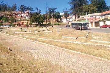 Pretenden revertir el abandono de unas 40 áreas verdes de Sucre