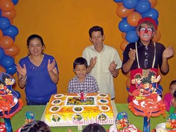 Cumpleaños de Juan Daniel Ortuño