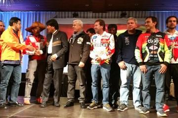 El Gobierno presenta el Rally Dakar 2017 en Bolivia