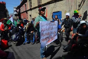Personas con discapacidad preparan nuevas protestas