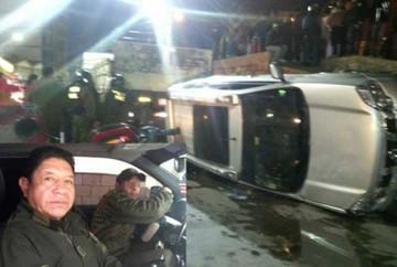 Potosí: Suspenden a coronel Víctor Hinojosa por accidente