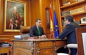 España: El rey Felipe VI disuelve el Parlamento
