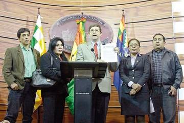 Comisión: MAS descarta tráfico de  influencias y libera de culpa a Evo