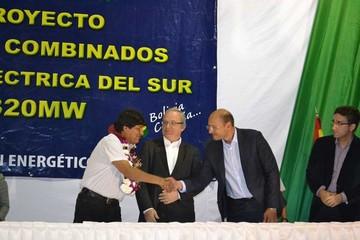 Siemens ampliará termoeléctrica en Yacuiba por 397 millones de dólares