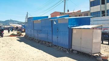 Lajastambo: Comerciantes aún no entran al mercado