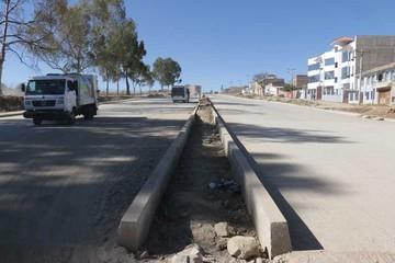 Esperan habilitar un tramo de avenida Juana Azurduy