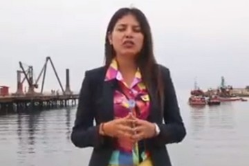 Alcaldesa de Antofagasta manda a callar al presidente Evo Morales