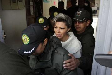 Zapata será investigada por asociación delictiva