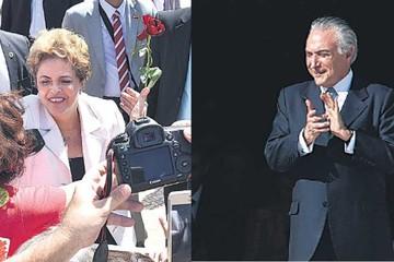 """Rousseff deja el mando y denuncia """"traición"""""""