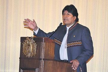Morales ve intentos de desestabilización