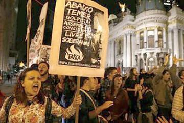 Brasil, con dos presidentes y una crisis