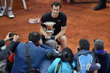 Murray le arrebata el título a Djokovic en Master de Roma