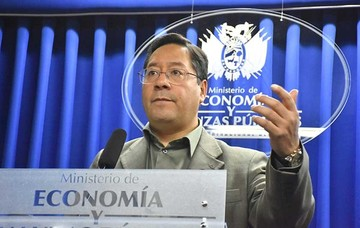 Ministro Arce: Sistema financiero del país goza de muy buena salud