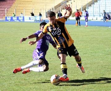 Real Potosí mira de reojo el descenso al resignar tres puntos