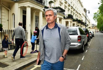 Mourinho en el United