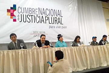 TCP analiza marginarse de la Cumbre de Justicia