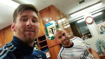 Messi llega a Argentina
