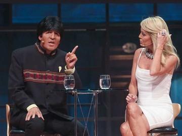 Nueva parodia sobre Evo en la Tv chilena