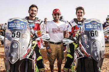 Los hermanos Nosiglia destacan en el Dakar Series