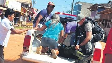 Un policía muere baleado por asaltantes brasileños