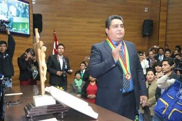 Valencia preside el TCP y promete justicia oportuna
