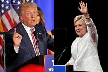 Trump y Clinton abren pelea por la Casa Blanca