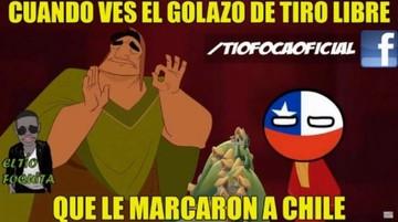 Memes del partido Bolivia-Chile inundan redes sociales