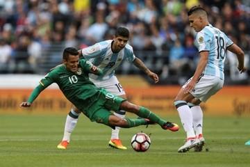 Bolivia se despide de la Copa recibiendo una goleada de Argentina