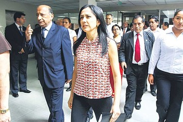 Juez dicta arraigo contra esposa de Ollanta Humala