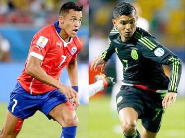 México pone a prueba a Chile
