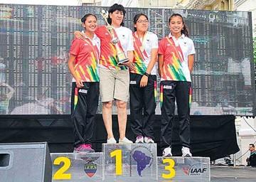Seis bolivianos en los Juegos