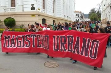 Magisterio Urbano de Chuquisaca acatará el paro de la COB este lunes