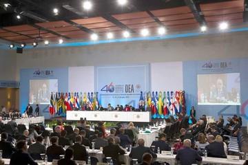 Tres ex presidentes explicarán mediación en Venezuela ante OEA
