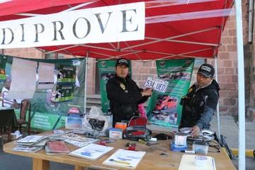 Unidades policiales muestran su trabajo a la ciudadania