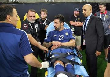 Argentina alista sin Lavezzi  la final de la Copa