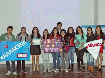 Líder Estudiantil Chuquisaca 2016