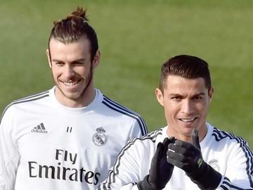 Cristiano y Bale, inamovibles del Real Madrid