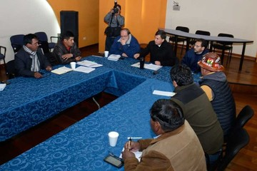 Fracasa el diálogo; la COB ratifica paro de 72 horas