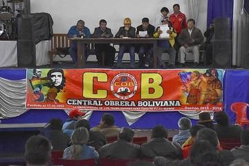 COB ratifica paro de 72 horas con movilización